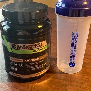 Recover and a shaker
